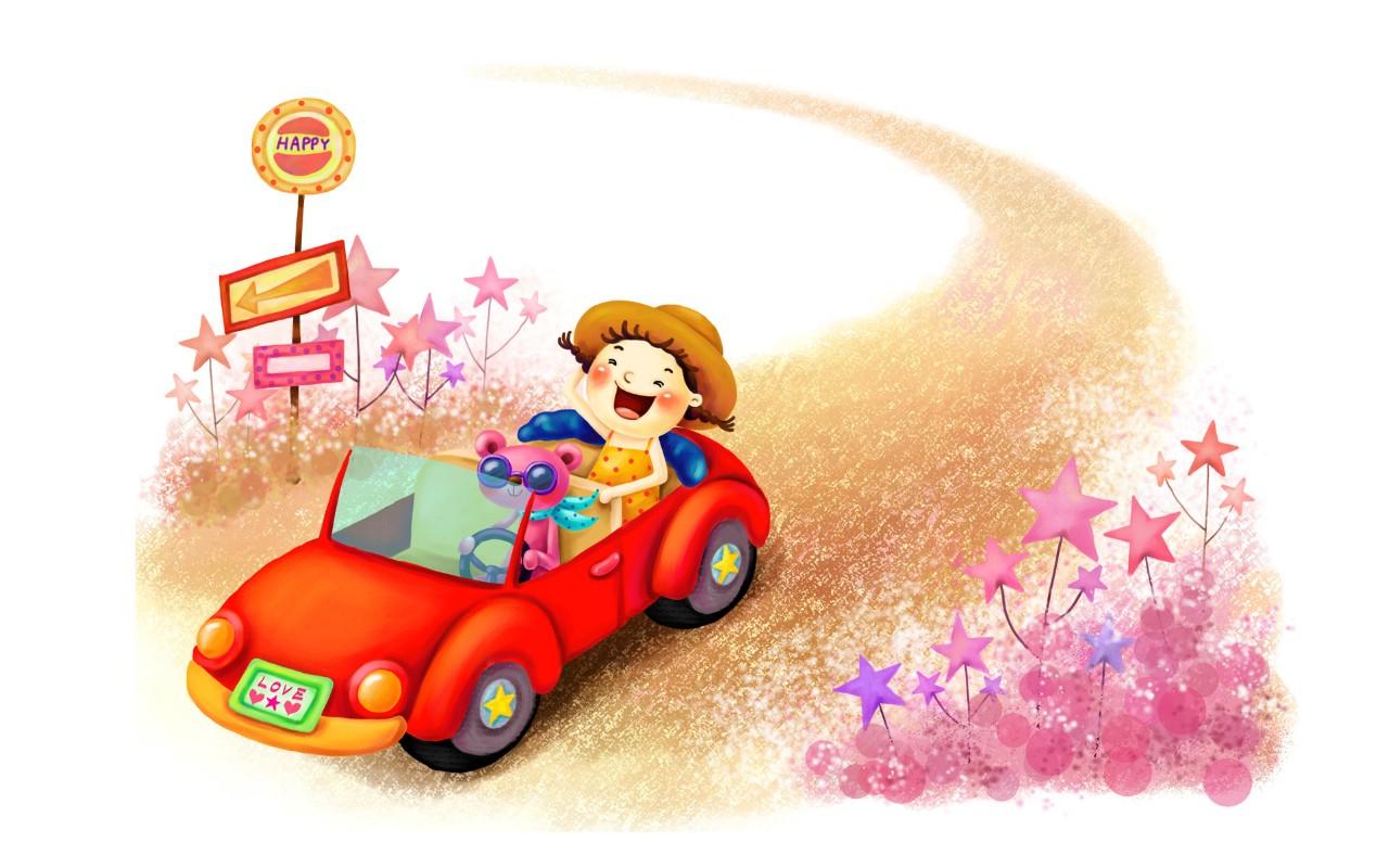 壁纸1280×800六一国际儿童节可爱卡通宽屏壁纸 壁纸6壁纸 六一国际儿童节可爱卡壁纸图片动漫壁纸动漫图片素材桌面壁纸