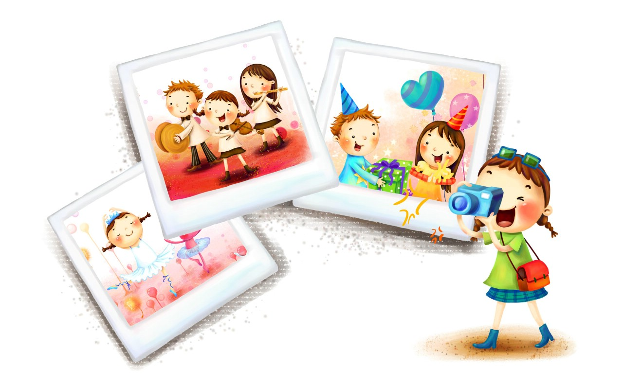 壁纸1280×800六一国际儿童节可爱卡通宽屏壁纸 壁纸12壁纸 六一国际儿童节可爱卡壁纸图片动漫壁纸动漫图片素材桌面壁纸