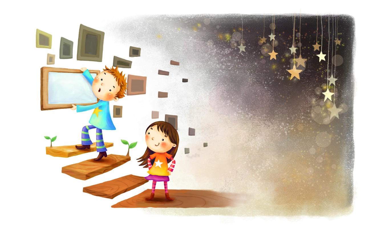 壁纸1280×800六一国际儿童节可爱卡通宽屏壁纸 壁纸28壁纸 六一国际儿童节可爱卡壁纸图片动漫壁纸动漫图片素材桌面壁纸