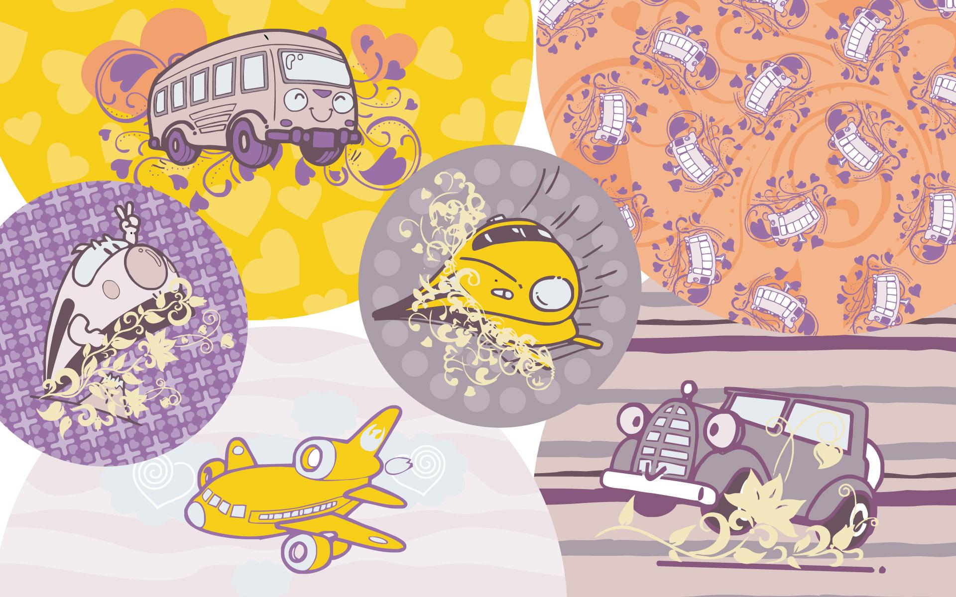 壁纸1920×1200矢量可爱卡通宽屏壁纸 壁纸11壁纸 矢量可爱卡通宽屏壁纸壁纸图片动漫壁纸动漫图片素材桌面壁纸