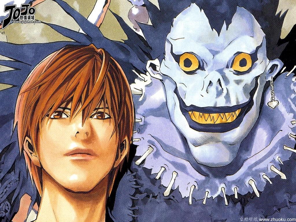 经典的烧脑动漫,《死亡笔记》是日本当年推理漫画的天花板