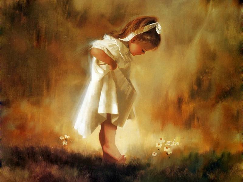 壁纸800×600令人怀念的美好童年油画壁纸 壁纸2壁纸 令人怀念的美好童年油壁纸图片绘画壁纸绘画图片素材桌面壁纸
