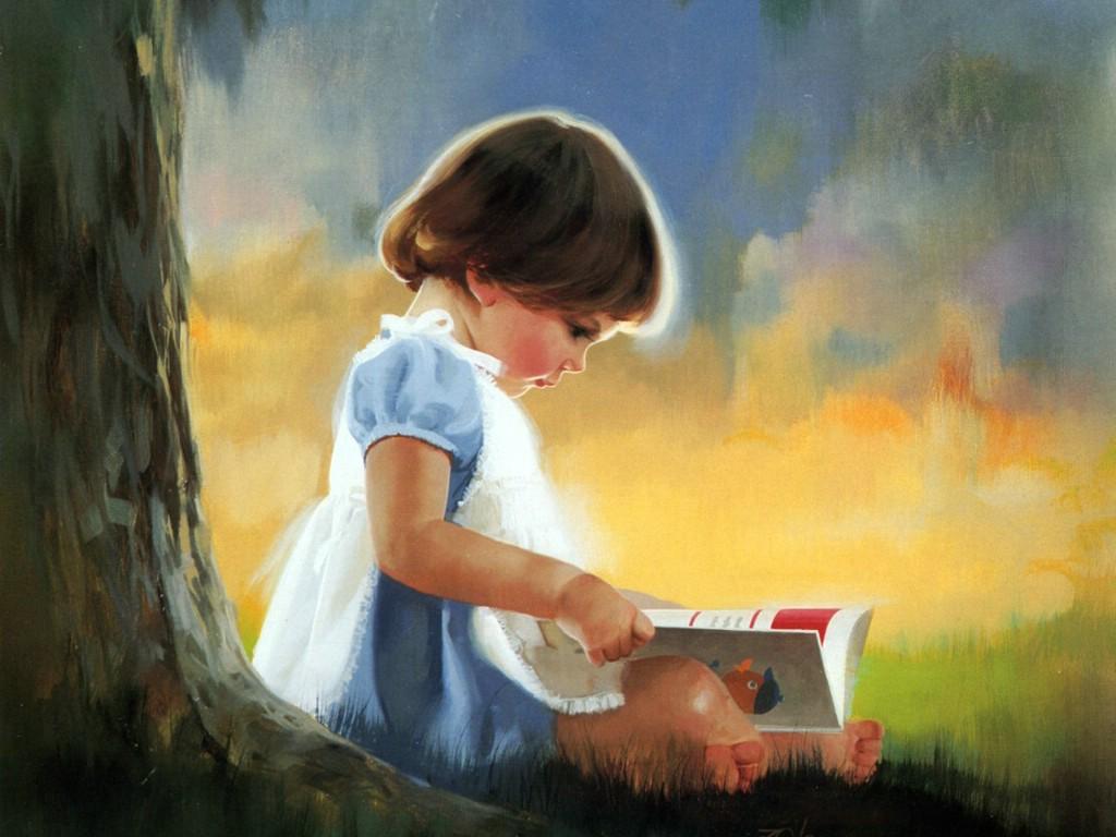 壁纸1024×768令人怀念的美好童年油画壁纸 壁纸12壁纸 令人怀念的美好童年油壁纸图片绘画壁纸绘画图片素材桌面壁纸
