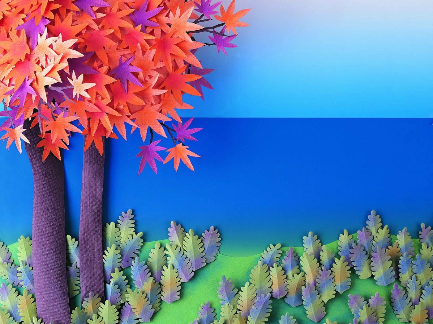 纸浮雕花朵步骤图