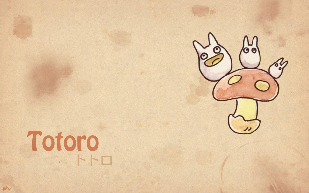 动手网 -> 龙猫 手绘简约版 壁纸8壁纸,()