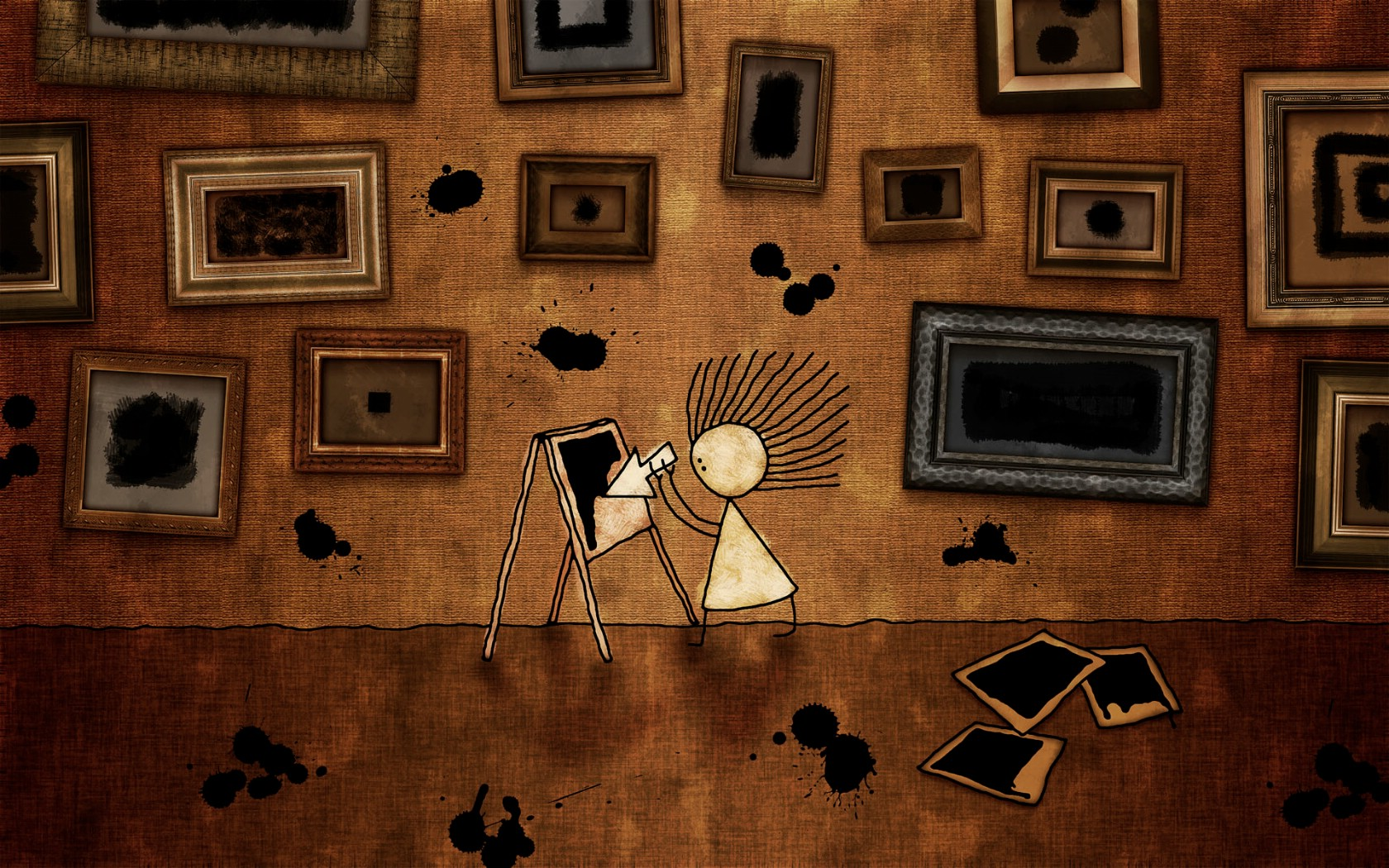 壁纸1680×1050vladstudi 可爱卡通宽屏高清壁纸 三 壁纸35