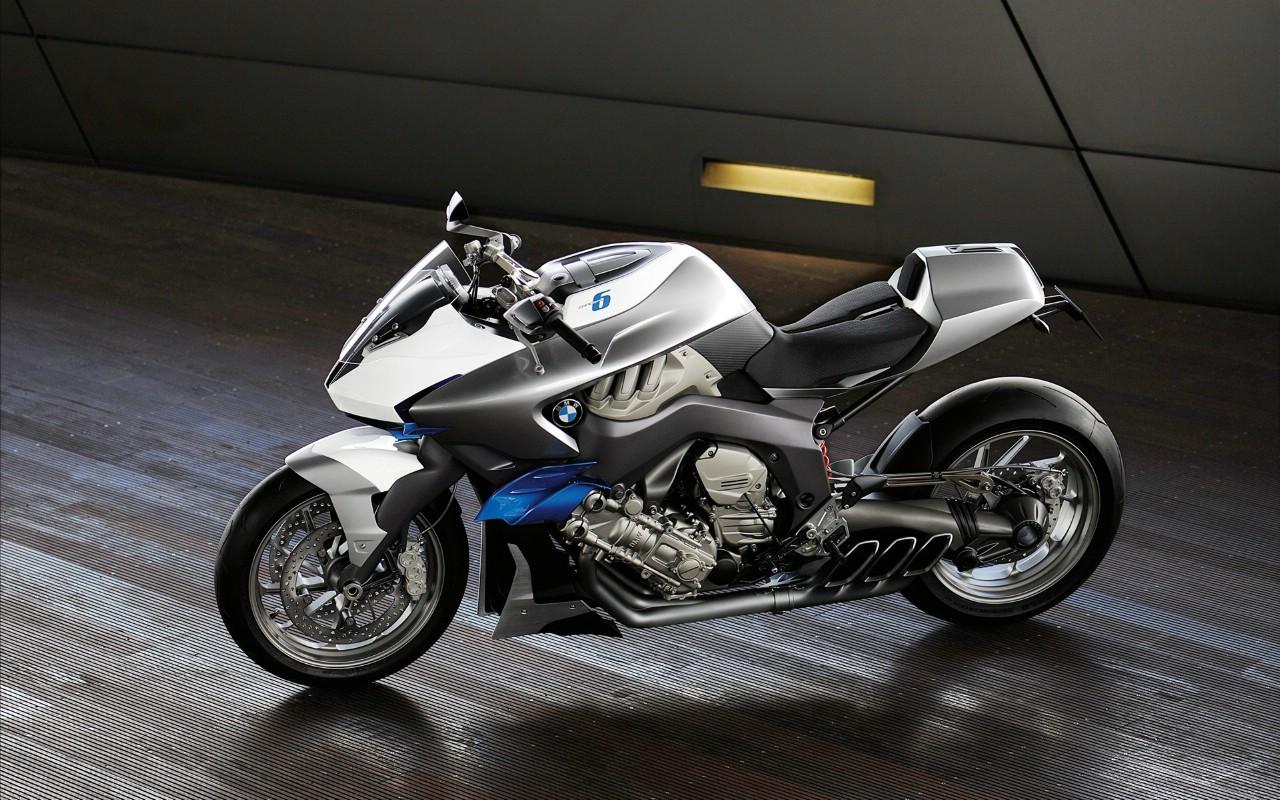 宝马摩托车 motorrad concept 6 壁纸8壁纸 bmw(宝马摩托车