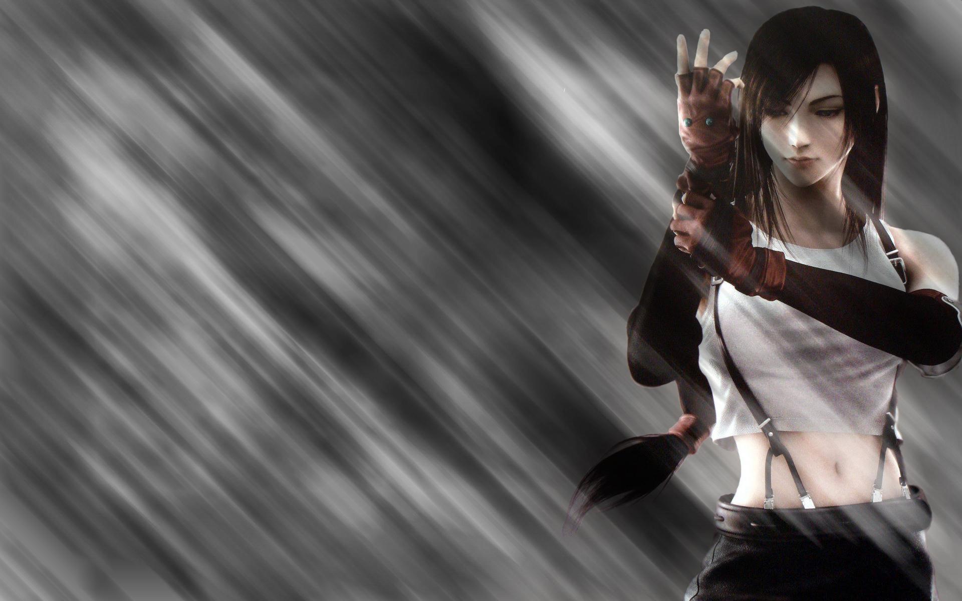 00tifa 最终幻想7 多分辨率 壁纸81920x1200壁纸,tifa 最终幻想7壁纸