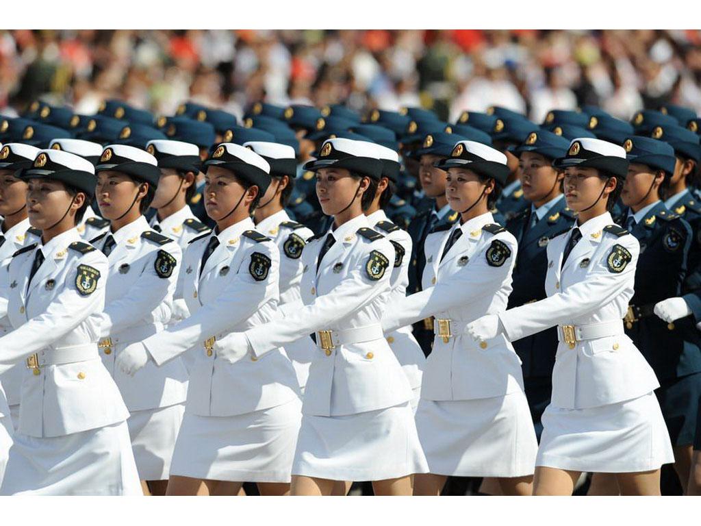 壁纸1024×7682009年国庆大阅兵女兵风姿壁纸 壁纸5壁纸 2009年国庆大阅兵壁纸图片军事壁纸军事图片素材桌面壁纸
