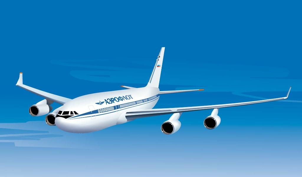 壁纸1024×600民航飞机宽屏壁纸 壁纸8壁纸,民航飞机