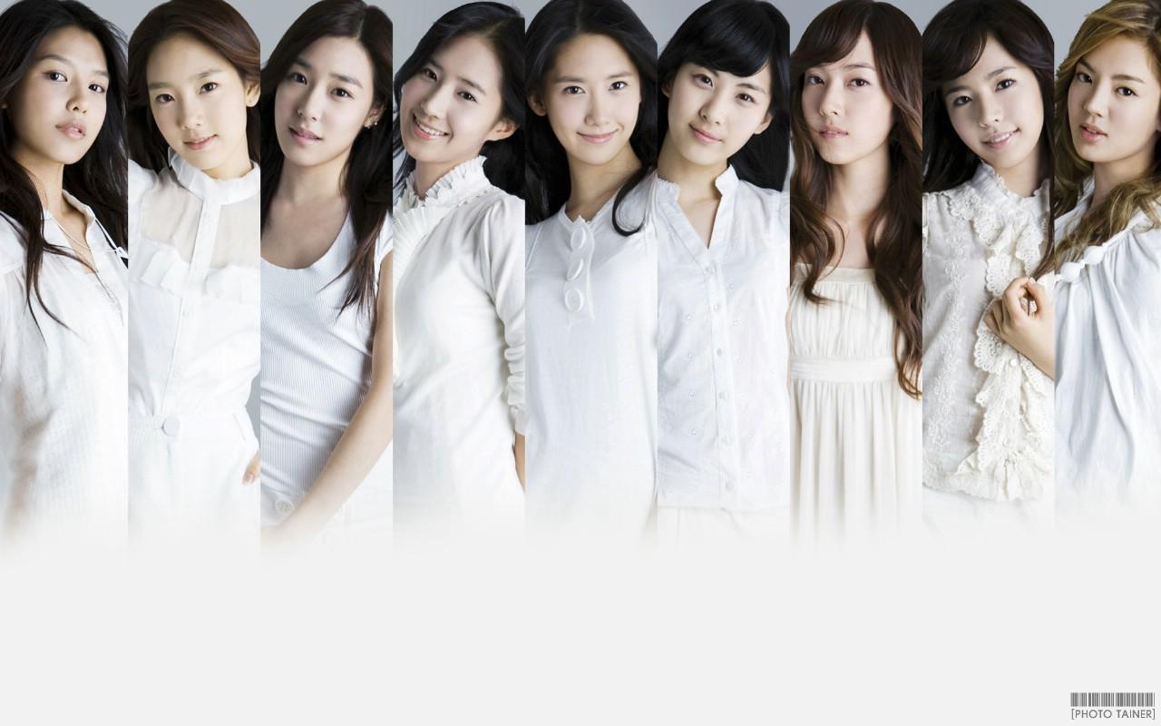 壁纸20壁纸 少女时代 韩国美女组壁纸图片明星壁纸