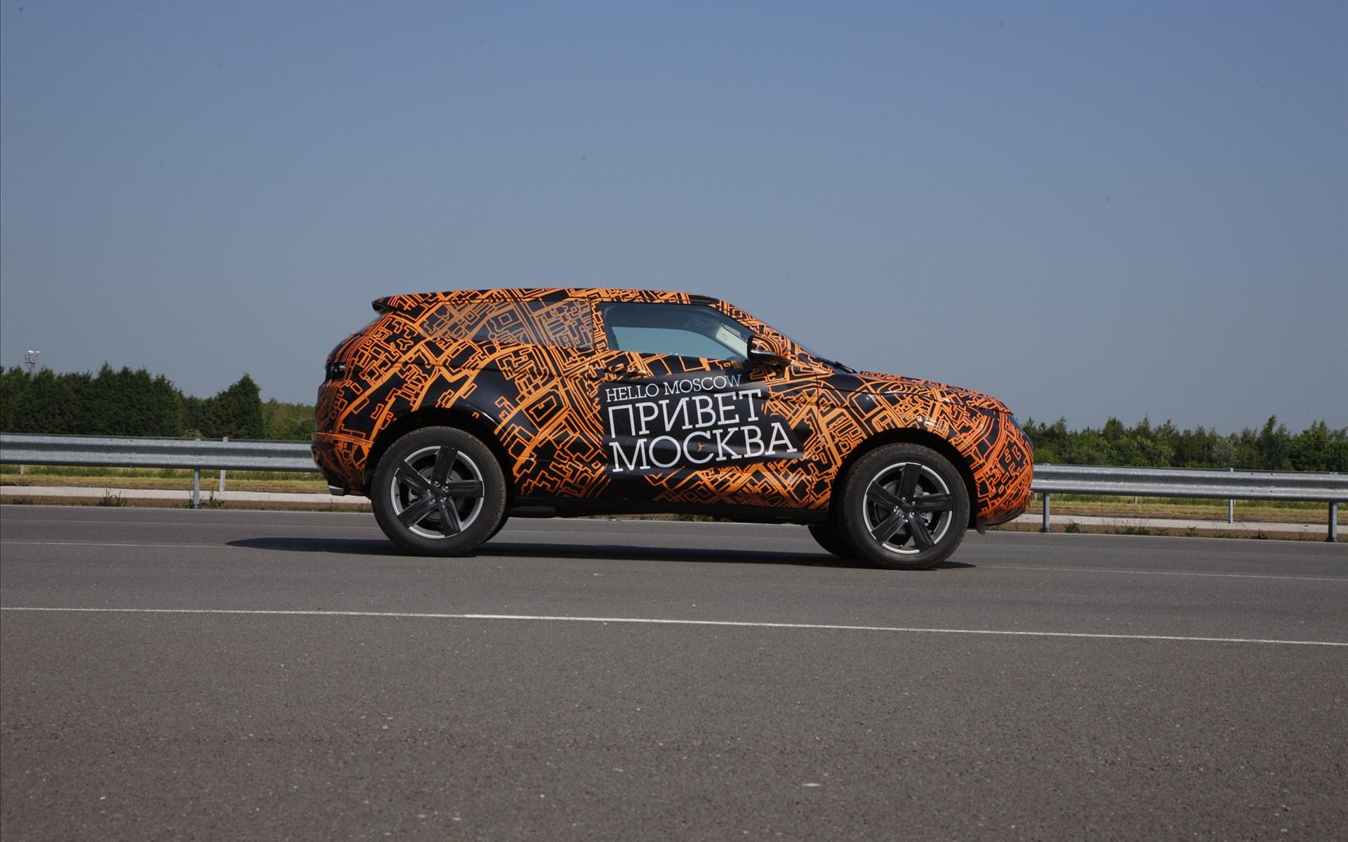 壁纸1920×1200Range Rover Evoque 路虎揽胜 2011 壁纸2壁纸 Range Rove壁纸图片汽车壁纸汽车图片素材桌面壁纸