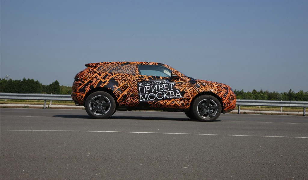 壁纸1024×600Range Rover Evoque 路虎揽胜 2011 壁纸2壁纸 Range Rove壁纸图片汽车壁纸汽车图片素材桌面壁纸