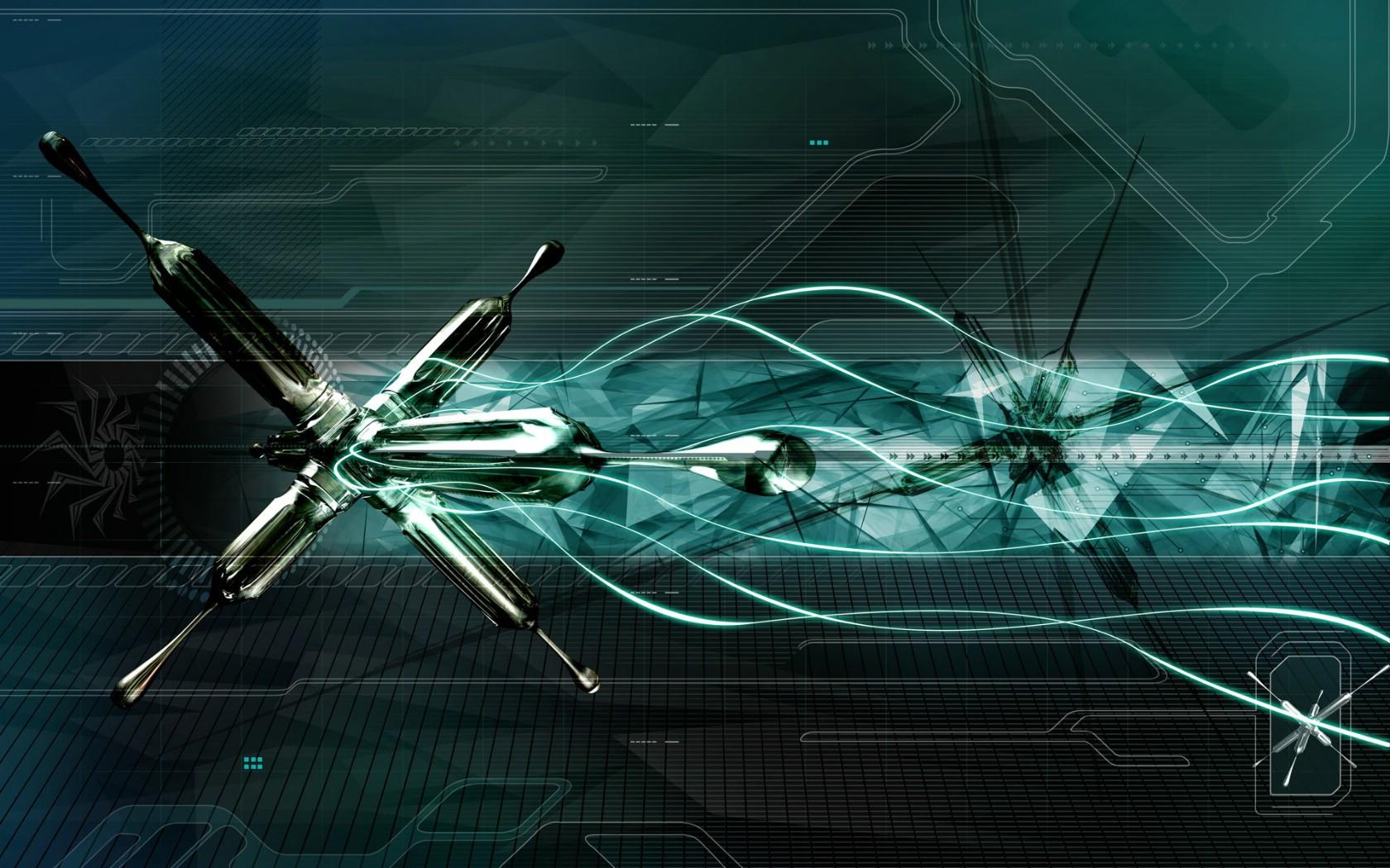 创意科幻立体设计宽屏壁纸 192