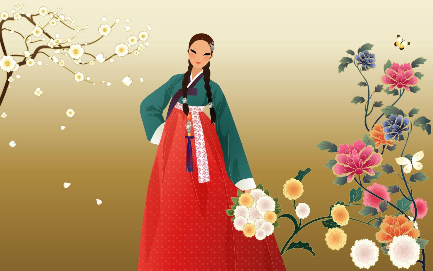 昵图网免费素材图库朝鲜族人物动漫图片