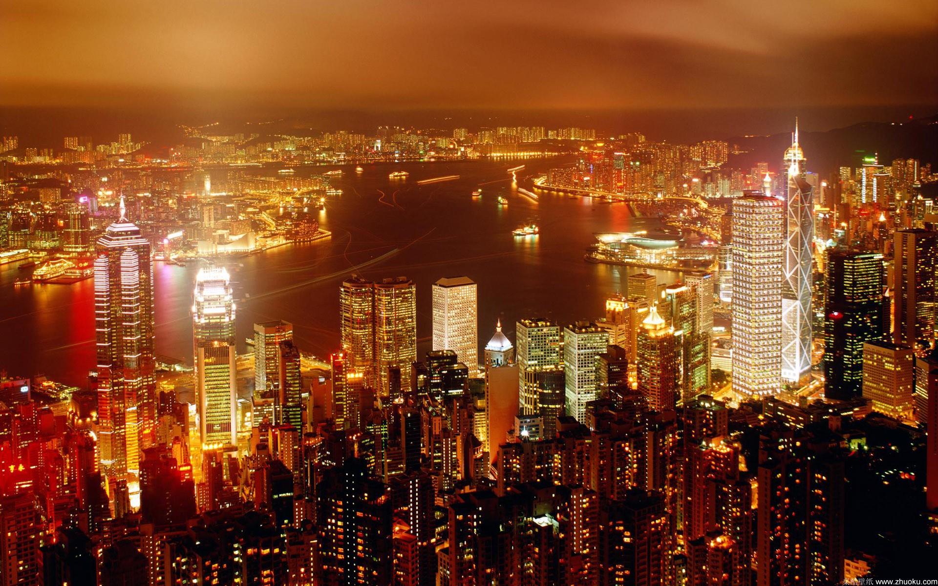 城市夜景-15-2壁纸,1920x1080像素壁纸