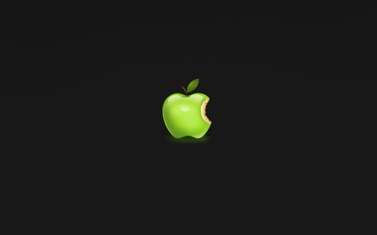可爱 苹果 透明背景