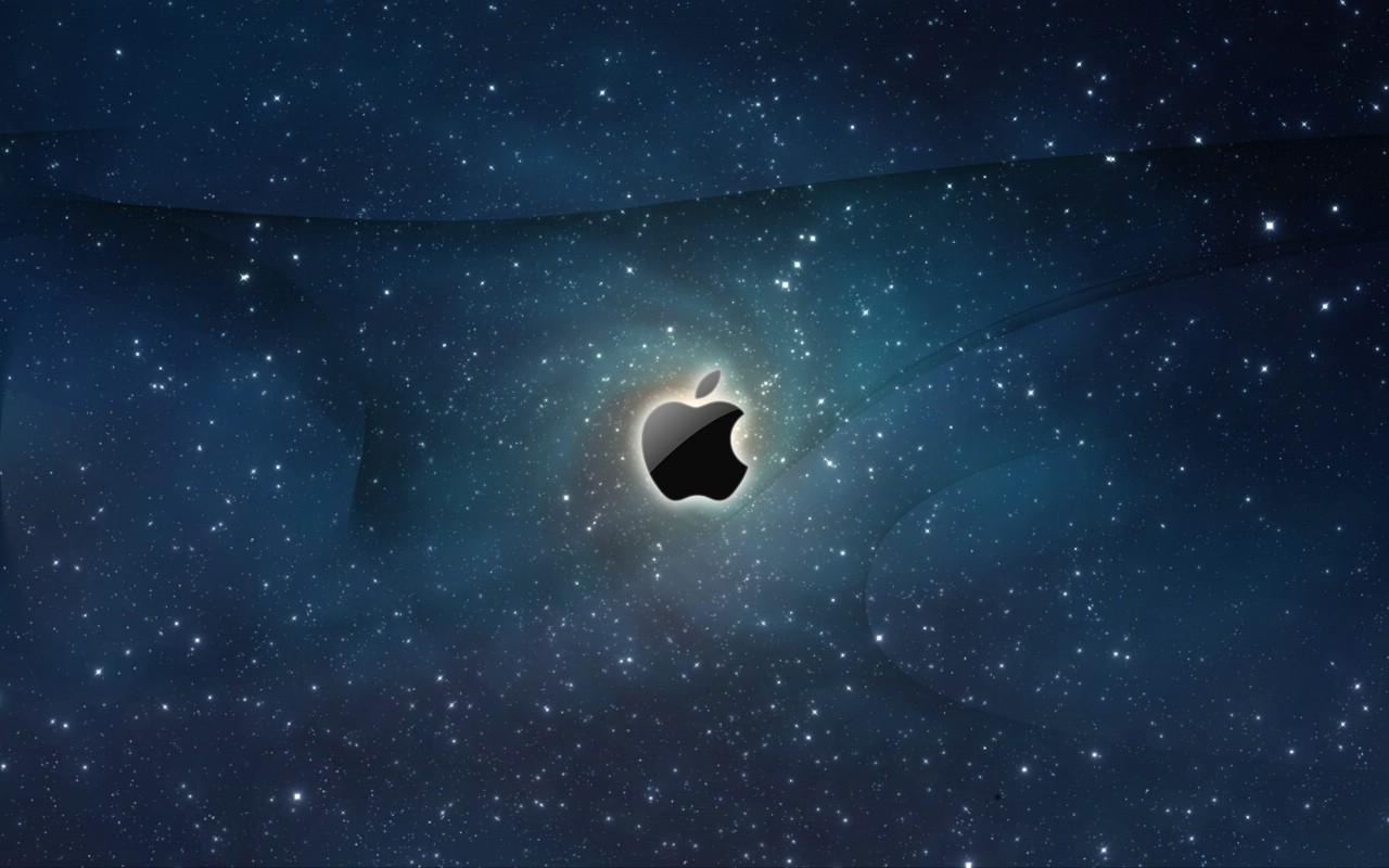苹果星空墙纸 - 新沂站长网