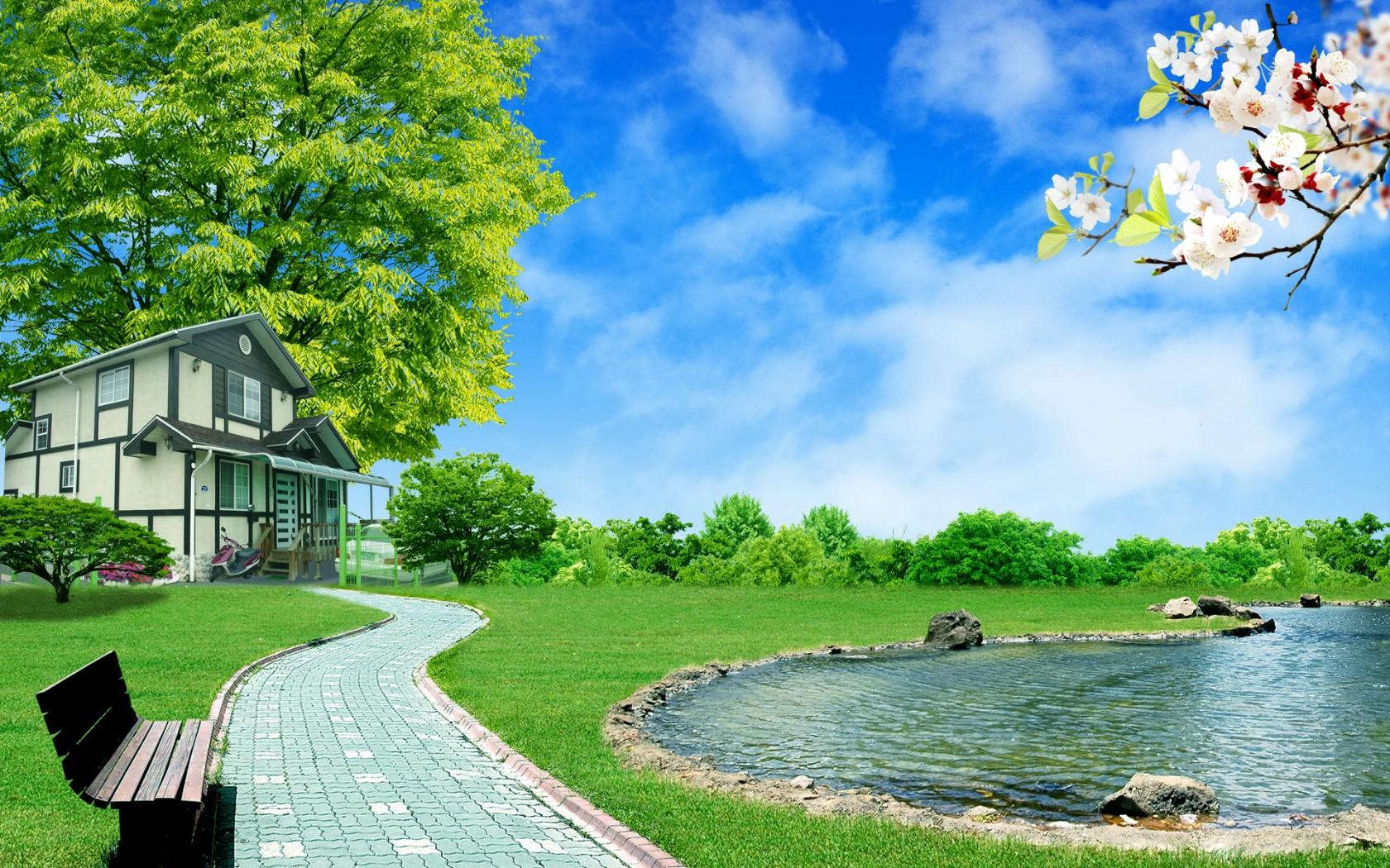 壁纸1680×1050梦想家园 最美好的日子宽屏壁纸 壁纸9壁纸 梦想家园:最美好的日壁纸图片系统壁纸系统图片素材桌面壁纸